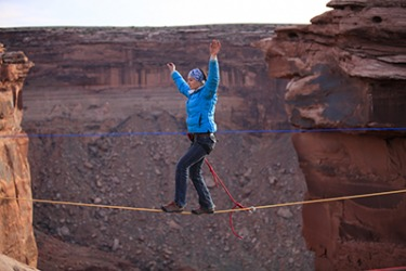 Highliners put themselves in mortal danger for the sake of thrill seeking.