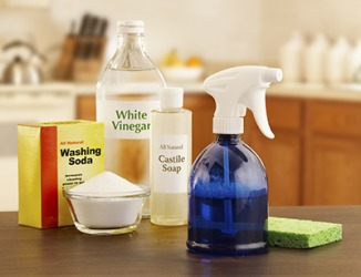 Eco-friendly cleaning products are a good choice to use because they have a benign impact on the environment.