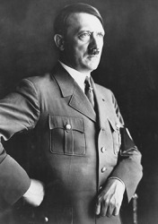 Hitler was the dictator of Germany during WWII and was responsible for many atrocities during his reign of power.