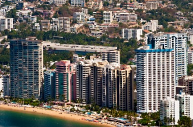 The city of Acapulco, Mexico.