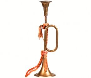 An antique bugle.