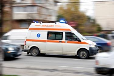 One type of ambulance.