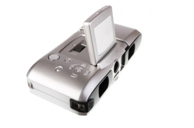 A digital camera for photography.