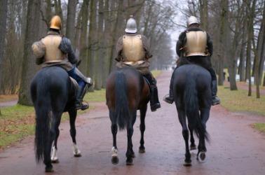 Three cavaliers.