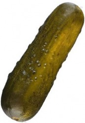 A pickle.