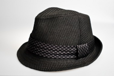 This is one style of hat. It is called a fedora