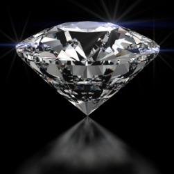 A beautiful diamond.