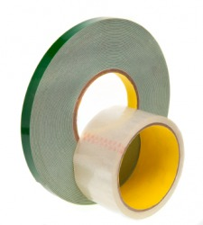 Two types of adhesive tape.