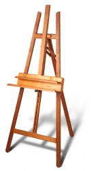 One type of wooden easel.