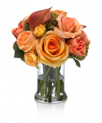 An elegant floral bouquet.