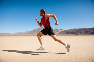 A runner needs a lot of energy.