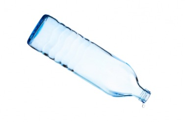 The bottle of water has been drank in its entirety.