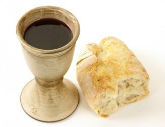 The Eucharist.