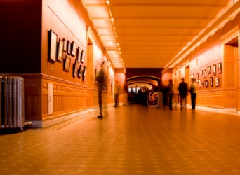An art exhibition.