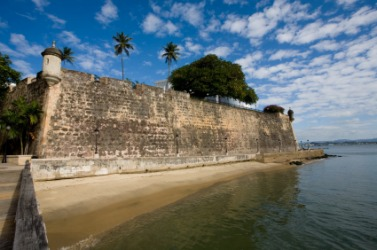An old fort in Puerto Rico.