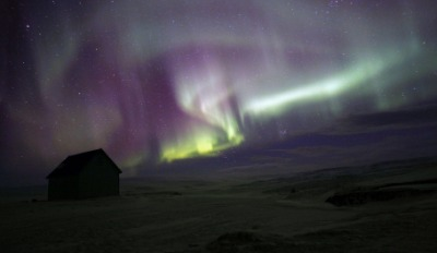 Aurora borealis is also called the northern lights or polar lights.
