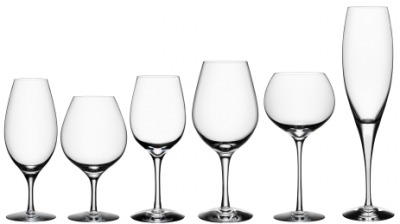 A collection of cocktail glassware.