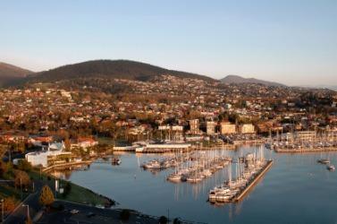 A harbor in Australia.