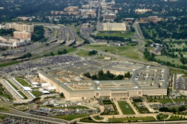 The headquarters for the Department of Defence is the Pentagon.