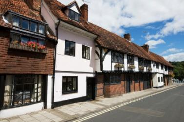 A street in Henley.