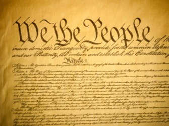 The United States constitution is a historical document.