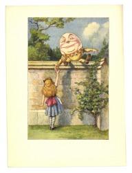 An illustration of Humpty Dumpty.