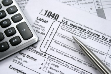 Forms used to pay United States income tax.