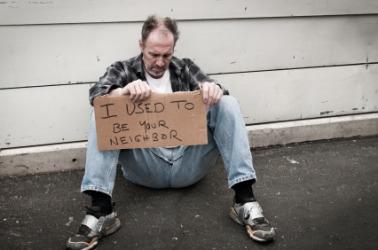 An indigent man.