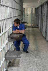 A prison inmate.