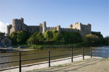 Pembroke Castle was built to be invincible.