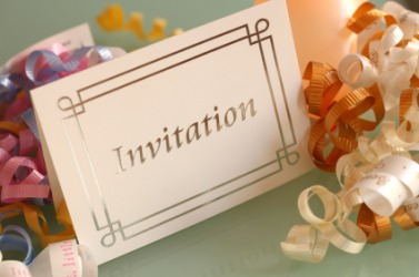 A party invitation.