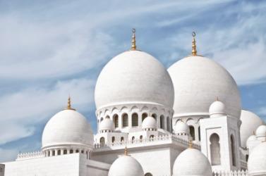 An Islamic mosque.