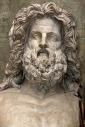 The Roman god Jupiter.