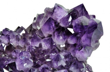 This amethyst is an example of a crystal.