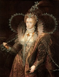Elizabeth I was once queen of England.