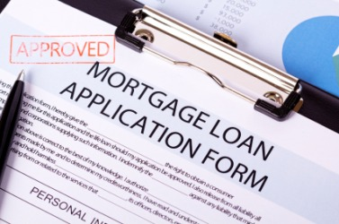 An application for a mortgage.