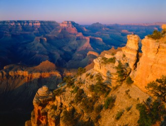 The Grand Canyon is a beautiful sight.