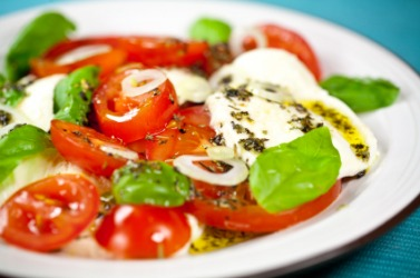 This Italian dish is an example of something that is Mediterranean.