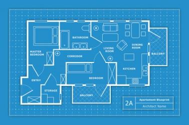 A Blueprint For An Apartment