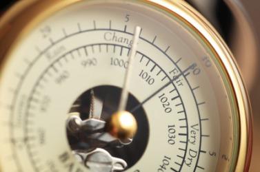 A barometer.