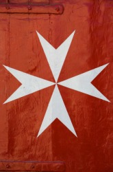 An example of a Maltese cross.