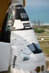 One of NASA's space shuttles.