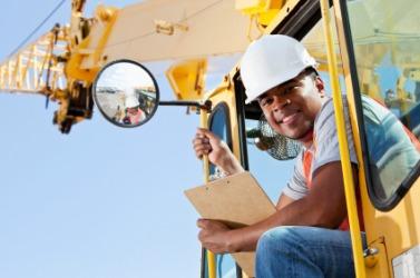 A crane operator.