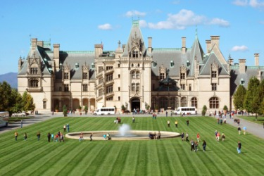 The Biltmore mansion is an example of opulence.