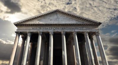 An ancient pantheon.
