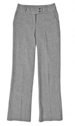 A pair of gray pants.