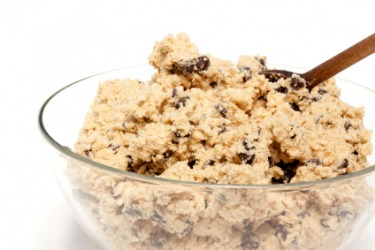 A batch of cookie dough.