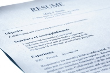 An Example Of A Resume.  Resumer