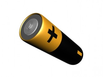 A battery that stores electrical charge.