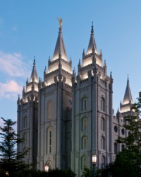 The Mormon Temple is an example of a tabernacle.